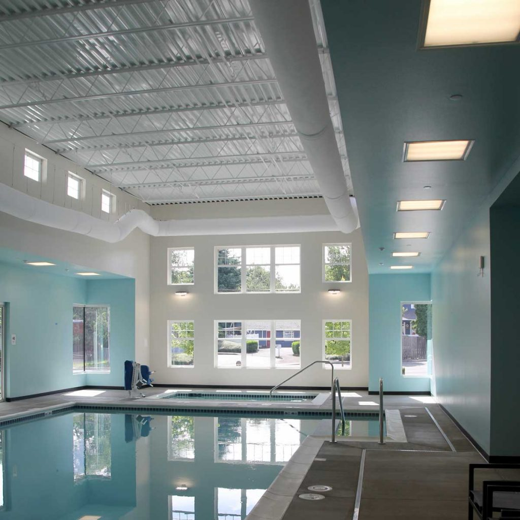indoor pool electrical services Hillsboro Oregon