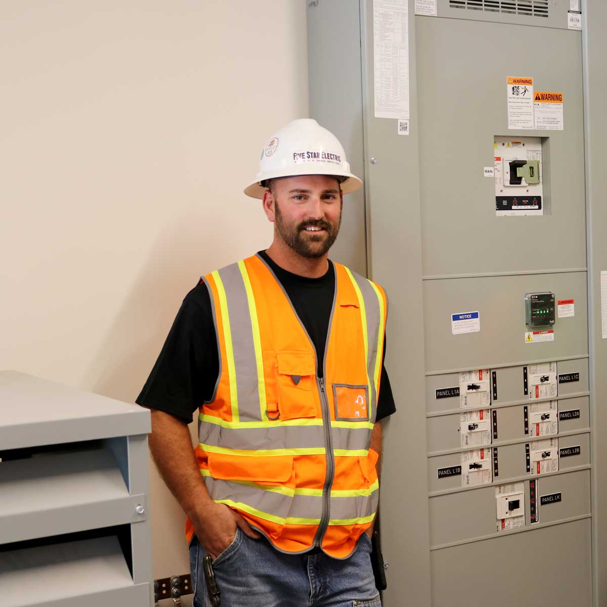 Electrician electrical panel Five Star Electric