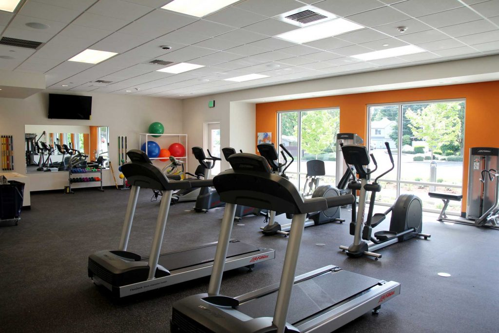 fitness center equipment electrical services