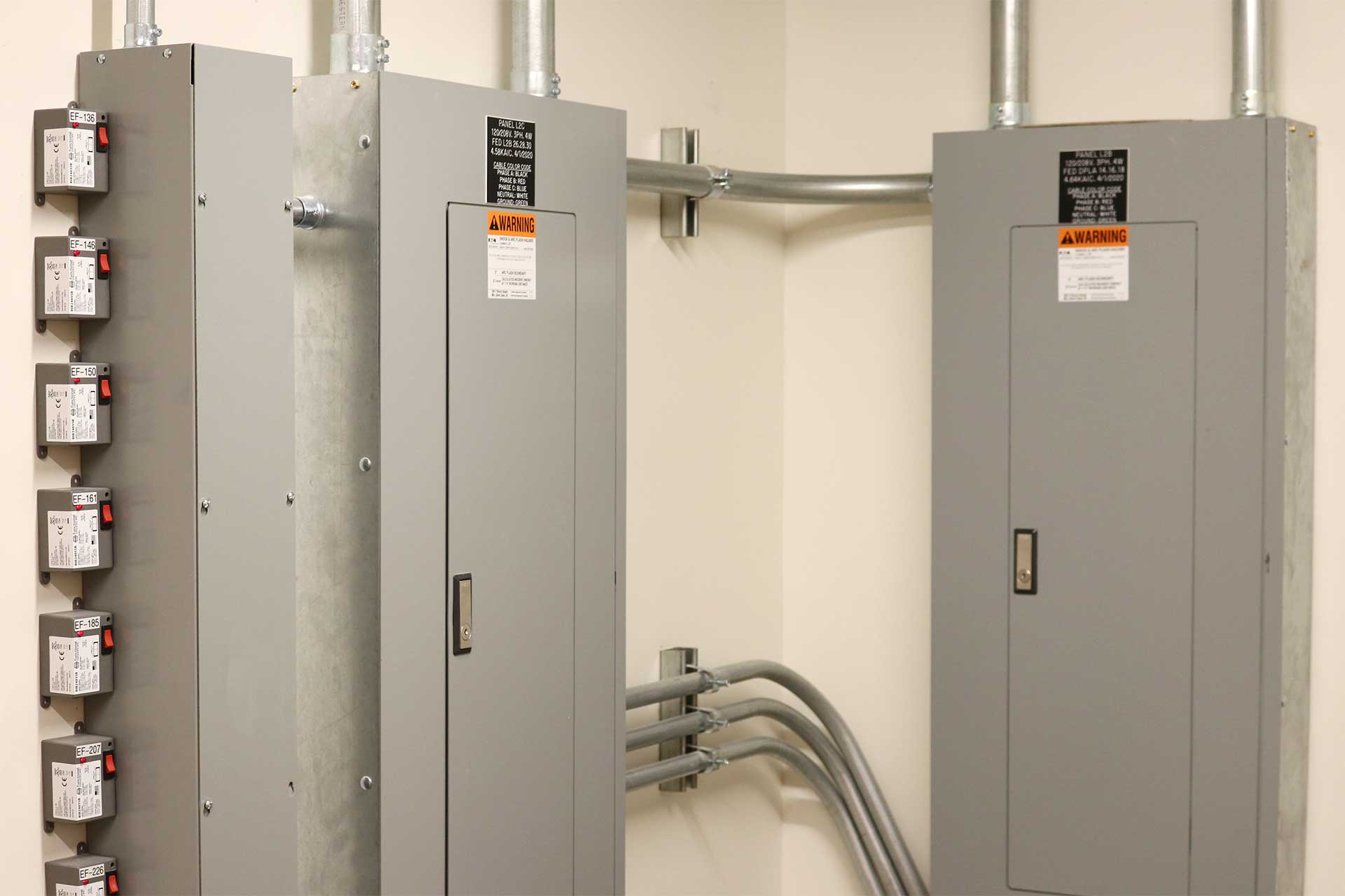 Industrial Electrical panel installation